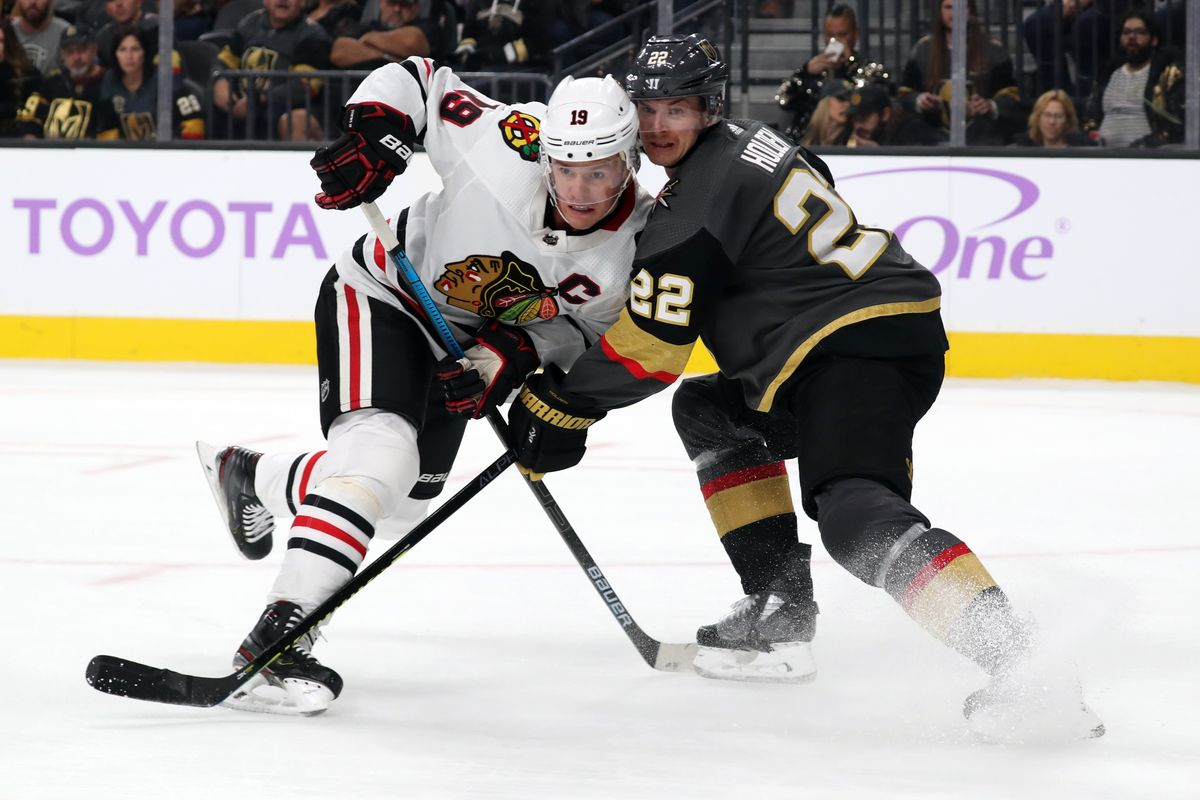Blackhawks Golden Knights Preview