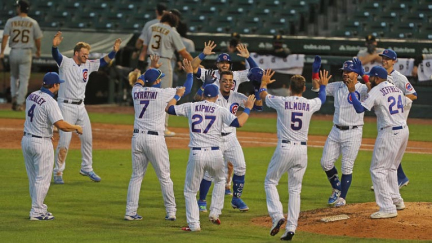 Chicago Cubs Sweep Pittsburgh Pirates