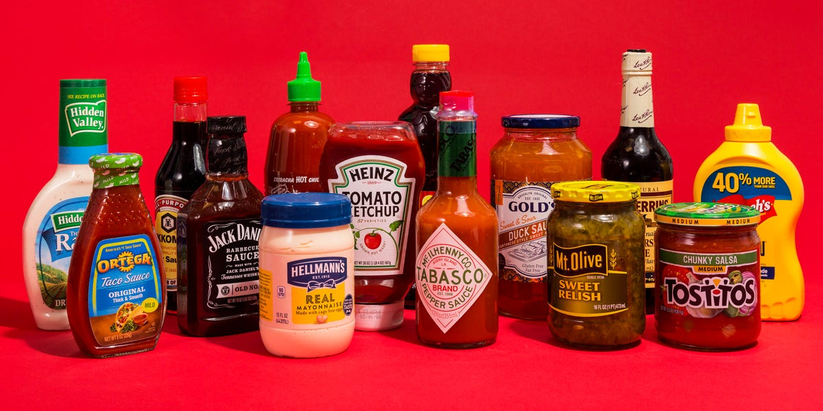 Condiment Power Rankings