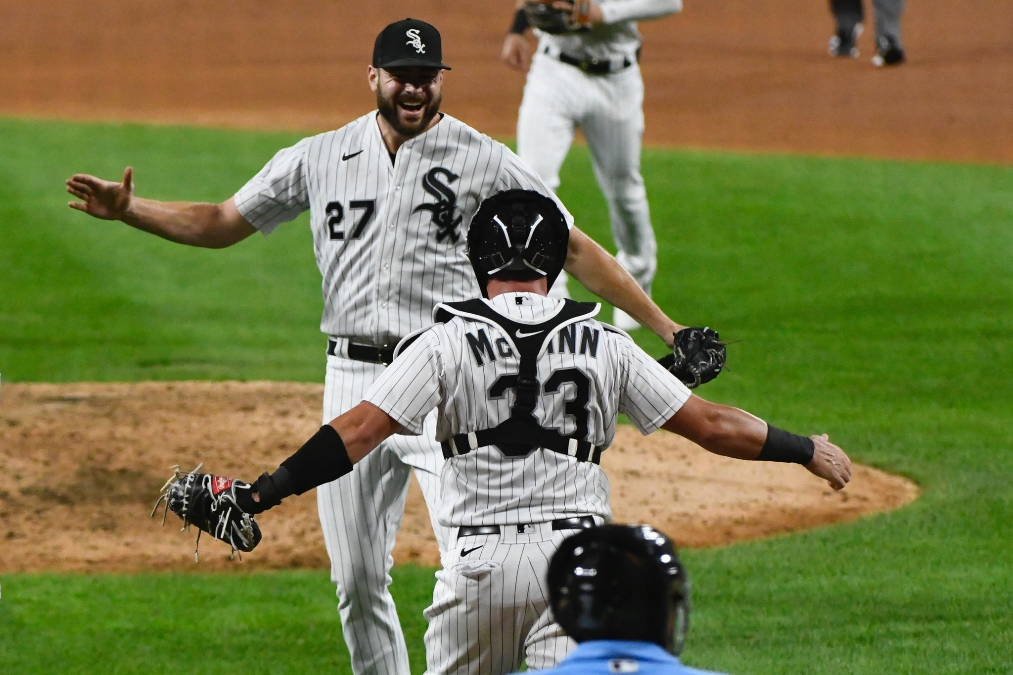 Lucas Giolito James McCann No-Hitter
