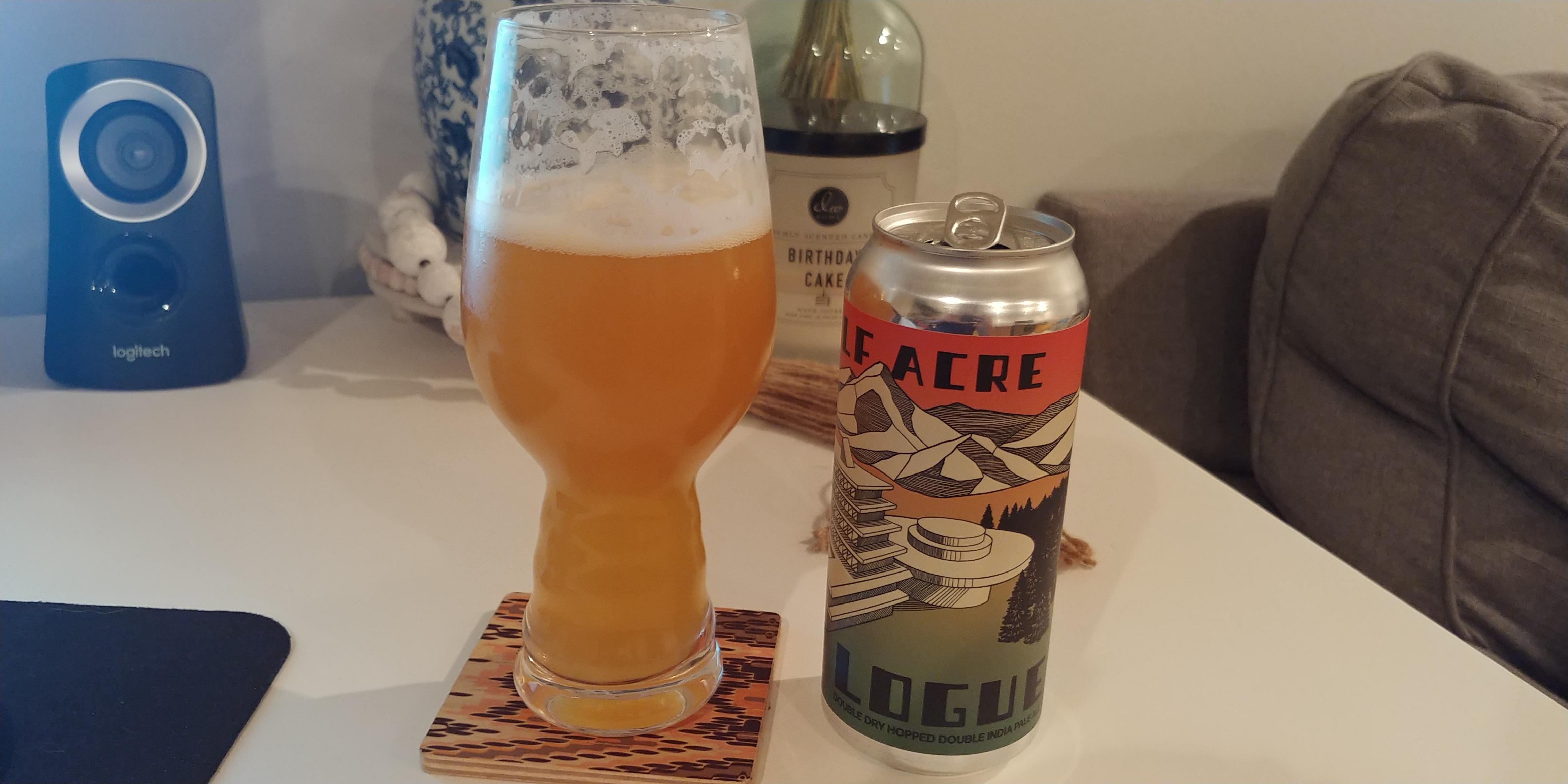 Half Acre Logue Beer Review