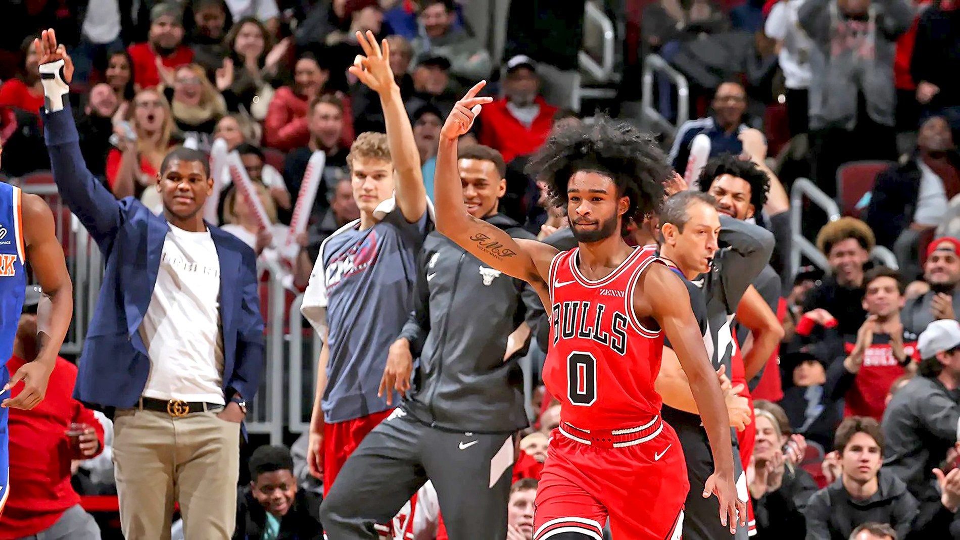Coby White Bulls All Rookie