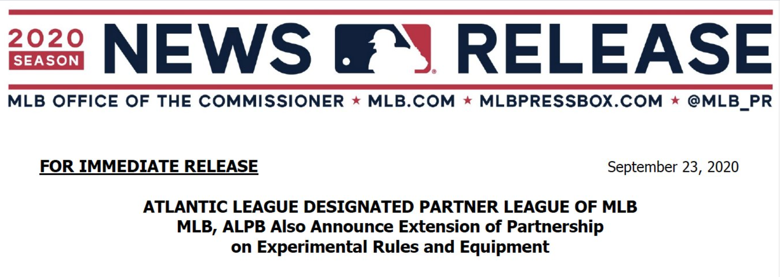 MLB Partner Leagues