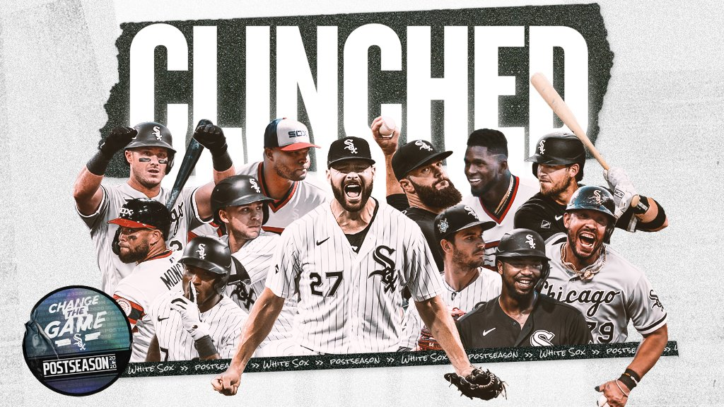 White Sox Clinch Playoff Berth