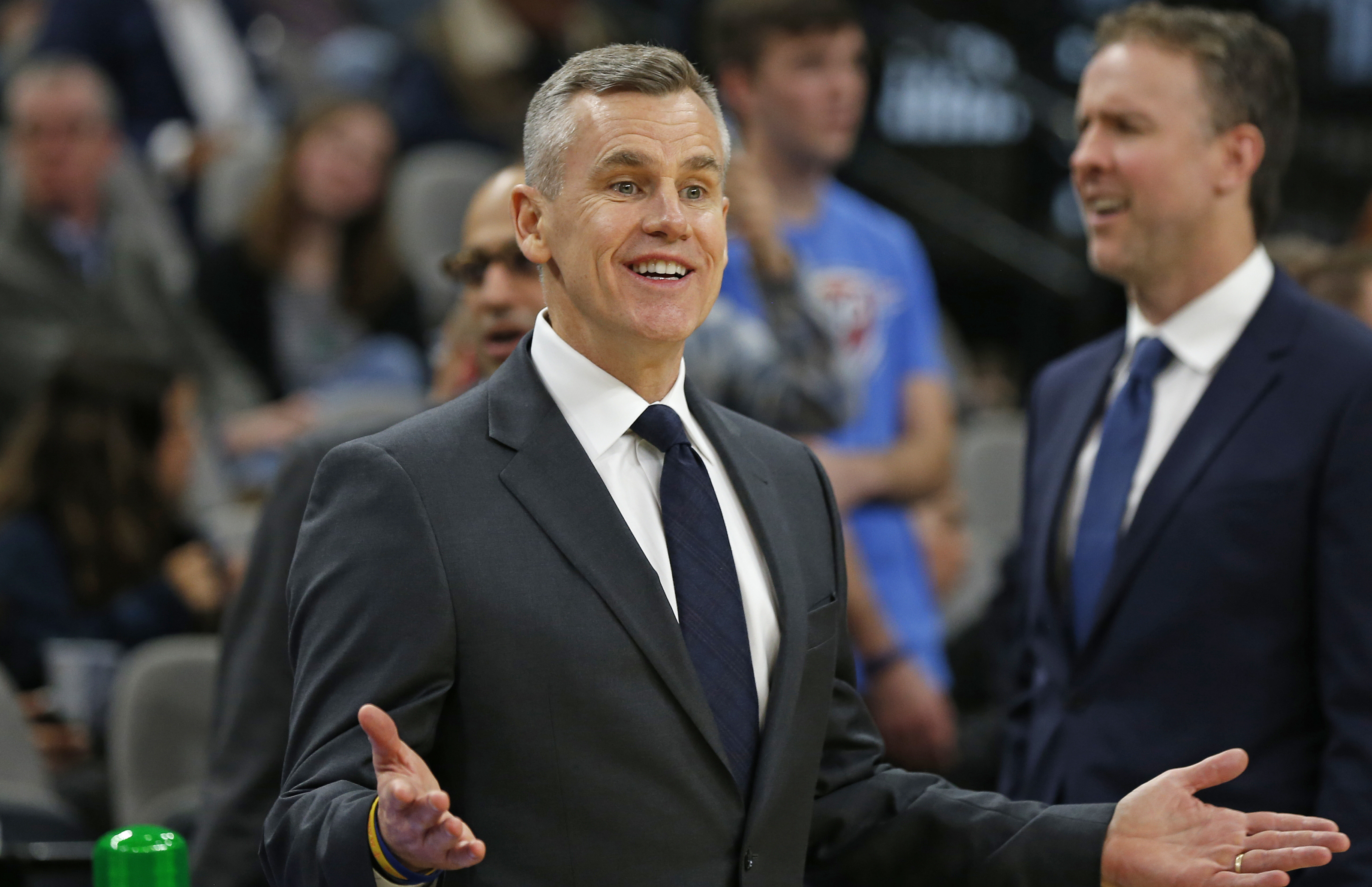 Billy Donovan Chicago Bulls Head Coach