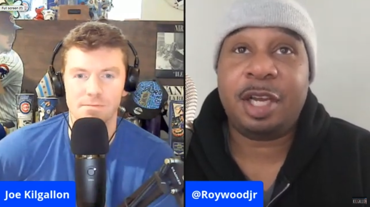 Roy Wood Jr. Cubs Fan