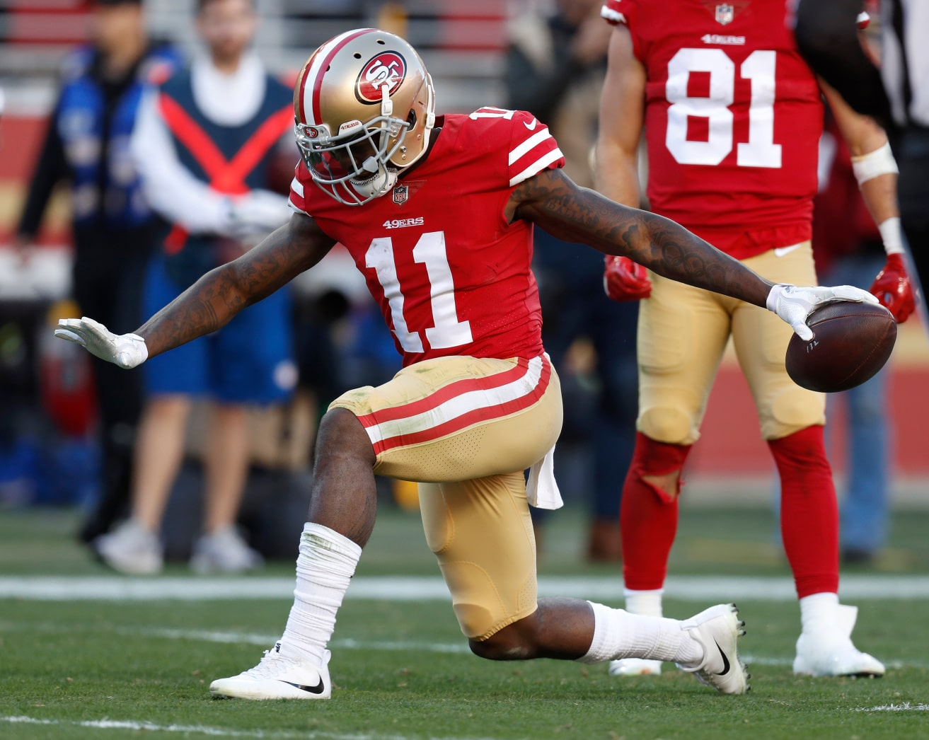 Marquise Goodwin Bears