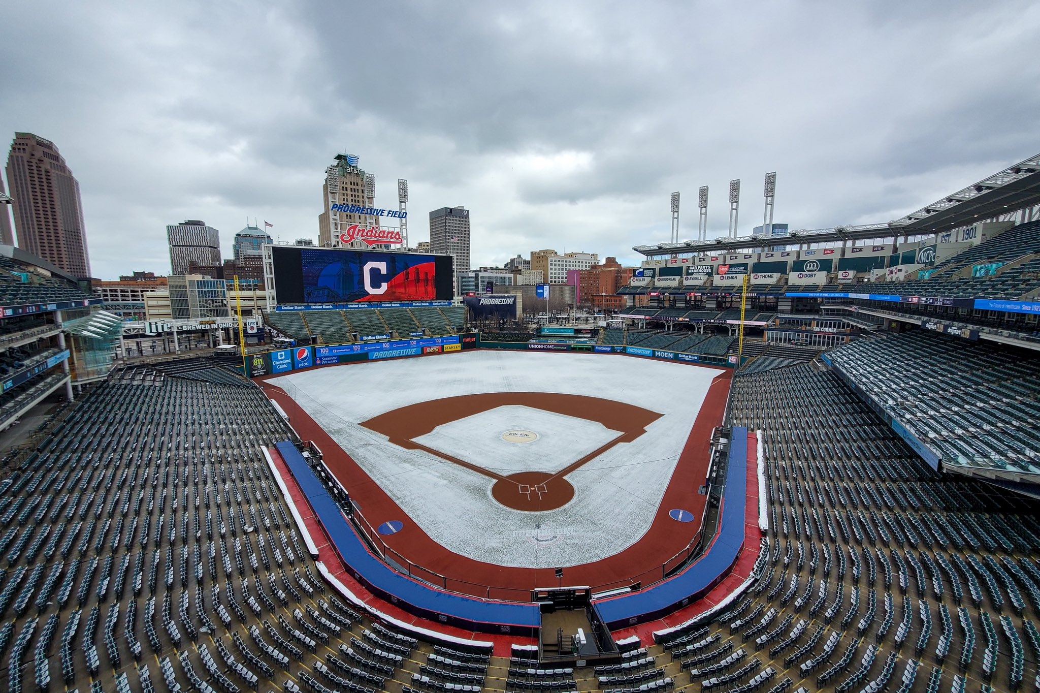 White Sox Indians Postponed
