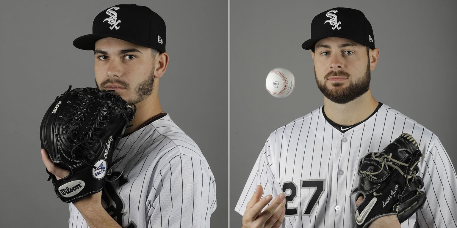 Lucas Giolito and Dylan Cease